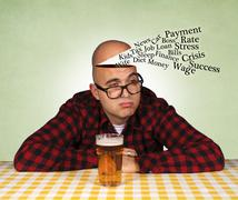 reasons to drink - stock photo