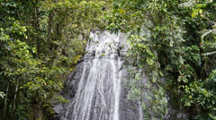 Waterfalls at El Yunque Tropical National Forest 9 Stock Footage