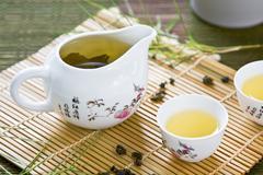 Oolong tea - stock photo