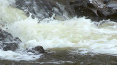 River Rocks White Water 2 Stock Footage