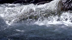 Raging Mountain river HD - stock footage