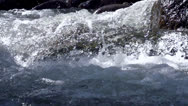 Stock Video Footage of Raging Mountain river HD