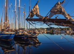 Hanseatic sail Stock Photos