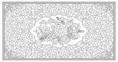 Stock Illustration of ottoman art of illumination
