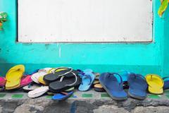 Slippers Stock Photos