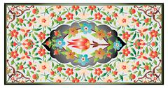 Stock Illustration of ottoman art of illumination colorful