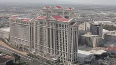 Caesar's Palace WS HA Stock Footage