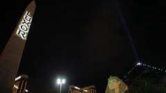 Luxor Obelisk Stock Footage