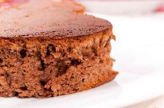 Puffed cake Stock Photos