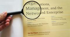 Stock Photo of organization management network