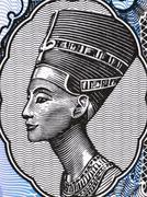Queen Nefertiti - stock illustration