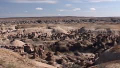 Ah-Shi-Sle-Pah Wilderness Area - New Mexico Time-Lapse Stock Footage