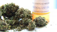 Medical Marijuana 6 Stock Footage