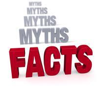 focus on facts - stock illustration