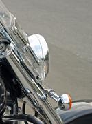 headlamp. - stock photo