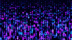 Numerals. Abstract Backdrop Stock Footage