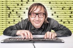 hack time - stock photo