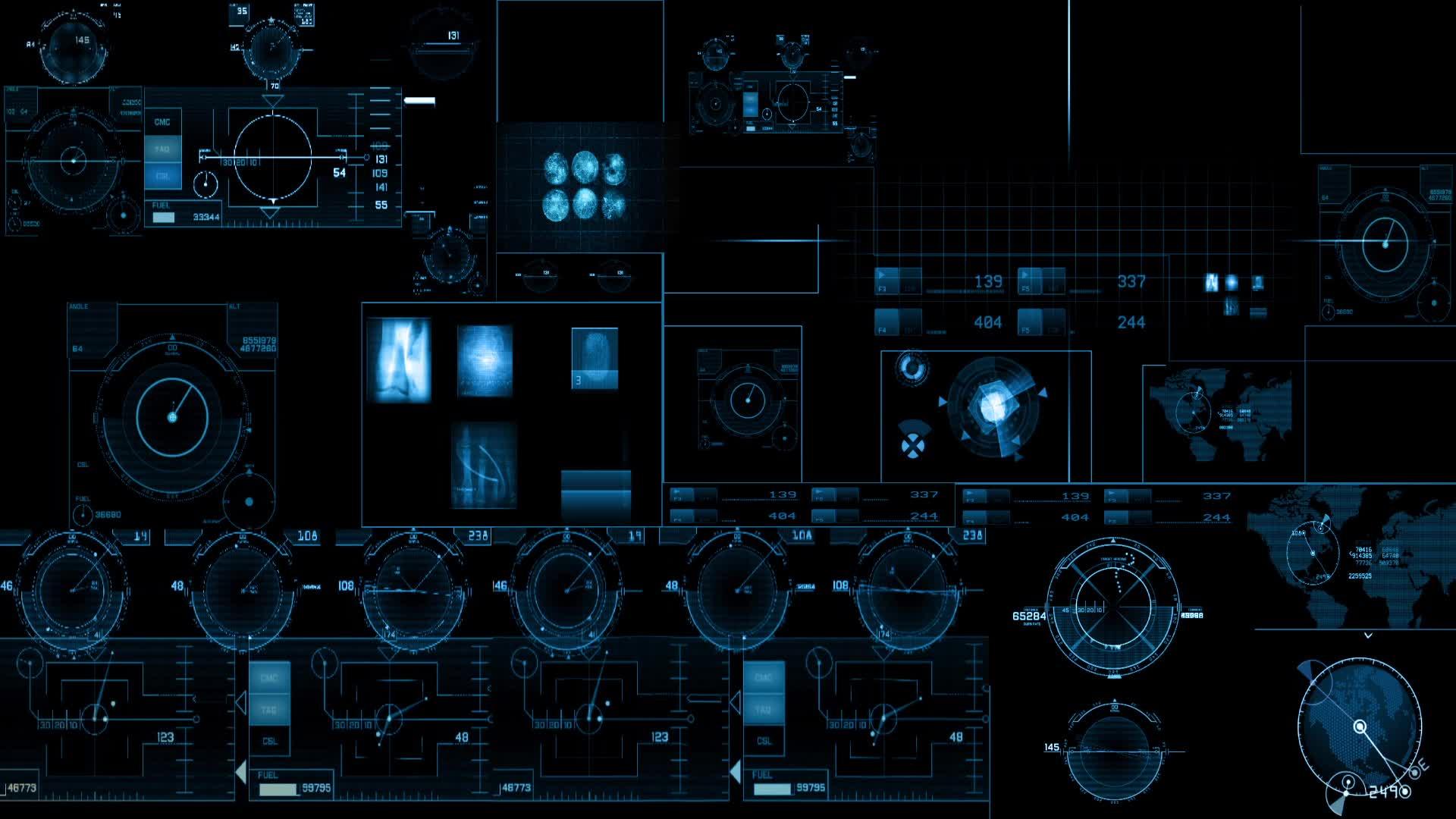 futuristic machine graphic overlay - HD1920×1080