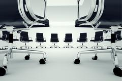 Office chairs. Stock Illustration