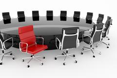 Conference room. - stock illustration