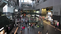 Kyoto railway station, Japan Stock Footage