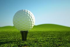 Golfpallo. Piirros