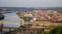 Pittsburgh's South Side Stock Footage