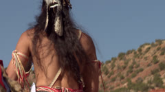 Native American Powwow Dancer - Male - Traditional Stock Footage