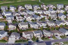Stock Photo of suburbia