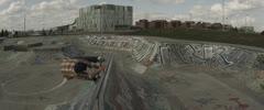 Slow Motion Skateboarding 4K Ultra High Definition Stock Footage