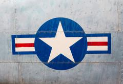 Symbol of the u.s. air force Stock Photos