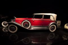 Historic 1931 Packard Model 745 Convertible Sedan 1090 Stock Photos