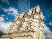 Stock Photo of view of notre dame de paris.