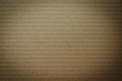Brown Cardboard Surface Background - stock photo