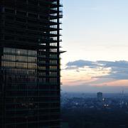 Modern Building Under Construction Stock Photos