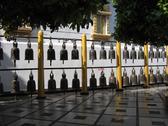 Bells Wat Phradhat in Thailand Stock Photos