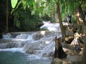 Erawan National Park in Thailand Stock Photos