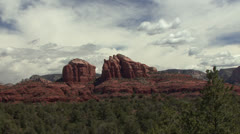 P02802 Red Rocks State Park in Arizona Stock Footage