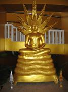 Wat Thaton Buddha in temple in Thailand - stock photo