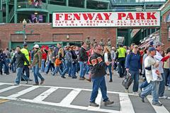 Boston - Huhti 20: Fenway Park 20. huhtikuuta 2013 Boston, USA. Kuvituskuvat
