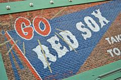 Boston - apr 20: fenway park on april 20, 2013 in boston, usa. Stock Photos