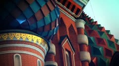 Moscow Kremlin detail Stock Footage