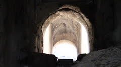 Colosseum Tunnel Stock Footage