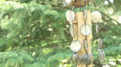 wind chime - stock footage