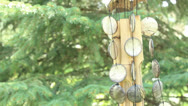 Stock Video Footage of wind chime