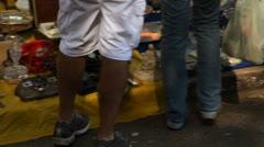 Vintage Products on sale at Porto Alegre's Flea Market (FleaMkt 31) Stock Footage