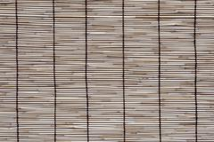 Rattan mat texture Stock Photos