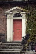 Red Door Dublinissa Irlannissa Kuvituskuvat