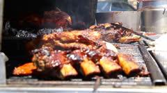 BBQ Grill 51822 Stock Footage