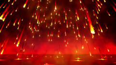 Fire rain loop - stock footage
